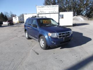 Used 2008 Ford Escape AWD XLT for sale in Elmvale, ON
