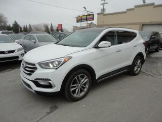 Used 2018 Hyundai Santa Fe Sport 2.0T Limited AWD Cuir Toit GPS a vendre for sale in Laval, QC