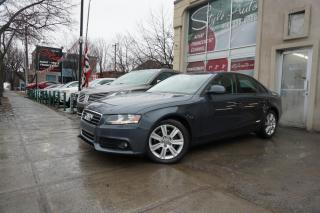 Used 2009 Audi A4 Berline 4 portes, boîte automatique, 2.0 for sale in Laval, QC