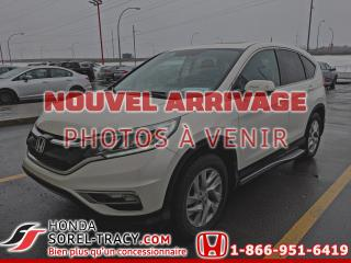 Used 2015 Honda CR-V Traction intégrale 5 portes EX-L for sale in Sorel-Tracy, QC