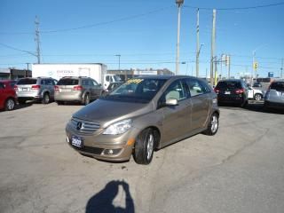 Used 2007 Mercedes-Benz B-Class 4dr HB PANORAMIC SUNROOF, HEATED SEATS NO ACCIDENT for sale in Oakville, ON
