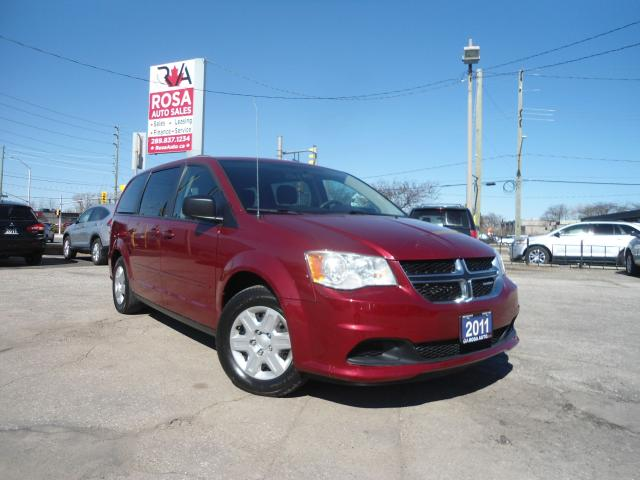 2011 Dodge Grand Caravan STOW & GO NO ACCIDENT SAFETY CERTIFIED NEW F TIRES