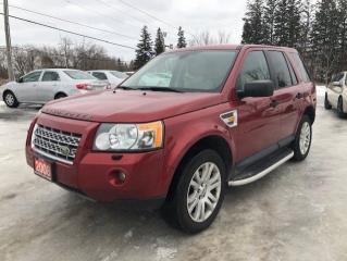 Used 2008 Land Rover LR2 SE LEATHER PANAROMIC ROOF AWD for sale in Stouffville, ON