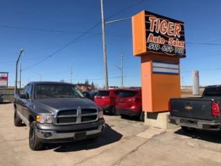 Used 2003 Dodge Ram 1500 SLT**QUADCAB**4X4**ONLY 161 KMS**CERTIFIED for sale in London, ON