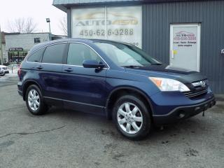 Used 2007 Honda CR-V ***4X4,CUIR,TOIT OUVRANT*** for sale in Longueuil, QC