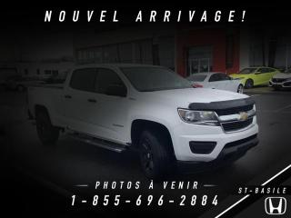 Used 2018 Chevrolet Colorado Camion de travail cabine multiplace 4RM for sale in St-Basile-le-Grand, QC