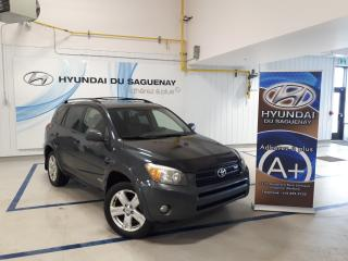 Used 2007 Toyota RAV4 Sport/awd/mags Awd for sale in Jonquière, QC