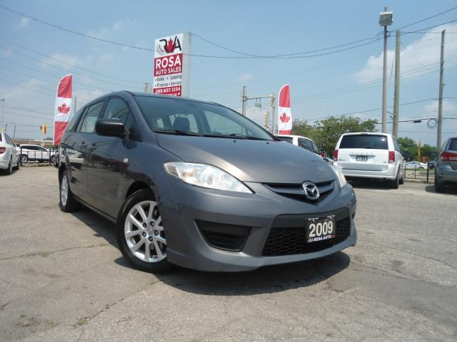2009 Mazda MAZDA5 AUTO 6PASSENGER 4 CYL GAS SAVER NO ACCIDENT RE-SAT
