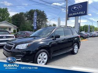 Used 2018 Subaru Forester 2.5i AWD COMMODITÉ ** Garantie Prolongée for sale in Victoriaville, QC