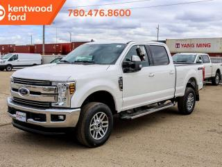 New 2019 Ford F-250 Super Duty SRW LARIAT 4x4, 6.2L Gas, Heated/Cooled Leather, Navigation, Remote Start, with Text start, Reverse Camera for sale in Edmonton, AB