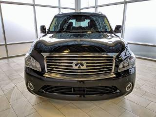 Used 2014 Infiniti QX80 Tech/One Owner/Alberta vehicle for sale in Edmonton, AB