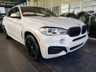 Used 2017 BMW X6 XDRIVE, NAVI, SUNROOF, HEATED STEERING for sale in Edmonton, AB