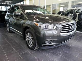 Used 2013 Infiniti JX35 HEATED SEATS, SUNROOF, REAR VIEW CAMERA for sale in Edmonton, AB