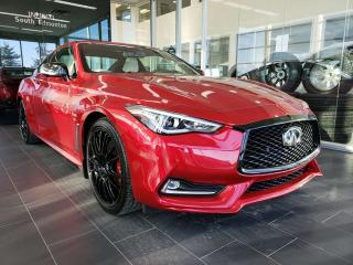 New 2019 Infiniti Q60 I-LINE RED SPORT/ PROACTIVE PACKAGE for sale in Edmonton, AB