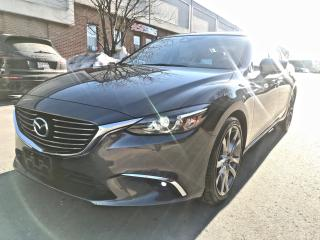 Used 2017 Mazda MAZDA6 GT, NAV, FULL OPTIONS, NO ACCIDENT for sale in North York, ON