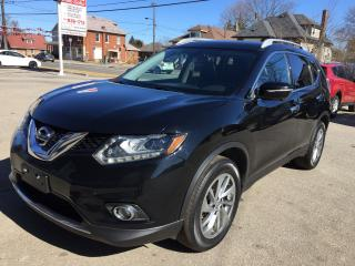 Used 2015 Nissan Rogue SL/AWD/NAV/SUNROOF/LEATHER/360 CAMERA for sale in Guelph, ON