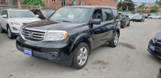 Used 2013 Honda Pilot LX for sale in Toronto, ON