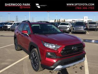 New 2019 Toyota RAV4 TRAIL for sale in Sherwood Park, AB