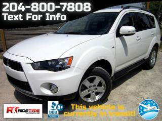 Used 2013 Mitsubishi Outlander LS for sale in Winnipeg, MB