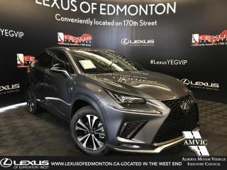 New 2019 Lexus NX 300 F Sport Series 3 for sale in Edmonton, AB
