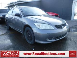 Used 2005 Honda Civic SE 2D Coupe for sale in Calgary, AB