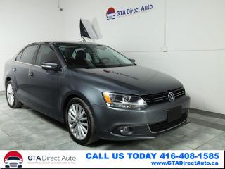 Used 2012 Volkswagen Jetta HIGHLINE TDI Nav Sunroof Camera Leather Certified for sale in Toronto, ON