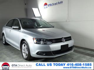 Used 2012 Volkswagen Jetta Comfortline TDI Alloys 49K KM Bluetooth Certified for sale in Toronto, ON