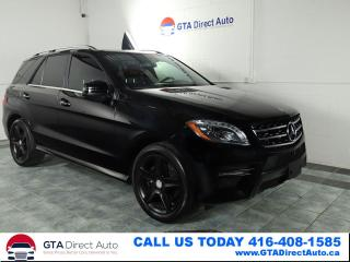 Used 2015 Mercedes-Benz ML-Class ML350 BlueTEC AMG Nav Pano 360Cam P1 Xen Certified for sale in Toronto, ON