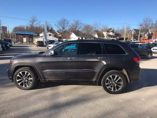 Used 2018 Jeep Grand Cherokee Limited | Leather Trimmed Seats | Dual Pane Panora for sale in Mitchell, ON