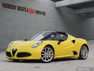 Used 2018 Alfa Romeo 4C Coupe Spider Carbon Halo/Mirrors/Trim.Akrapovic.As NEW for sale in Mississauga, ON