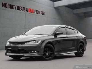 Used 2016 Chrysler 200 S AWD Mopar Performance Ed.NEW Brakes.NAV.Roof.Spo for sale in Mississauga, ON