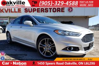 Used 2014 Ford Fusion TITANIUM AWD | LEATHER | SUNROOF | NAVI | B/U CAM for sale in Oakville, ON