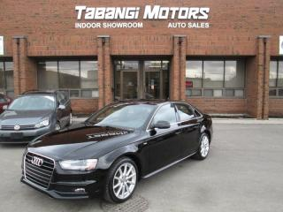 Used 2015 Audi A4 PROGRESSIVE PLUS | NO ACCIDENTS | S-LINE | NAVIGATION | for sale in Mississauga, ON