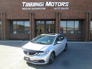 Used 2014 Honda Civic EX | REARCAM | HTD SEATS | SUNROOF | ALLOYS for sale in Mississauga, ON