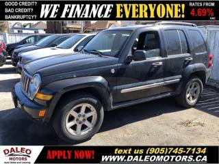 Used 2005 Jeep Liberty Limited Edition | 4X4 | LEATHER | CERTIFIED for sale in Hamilton, ON