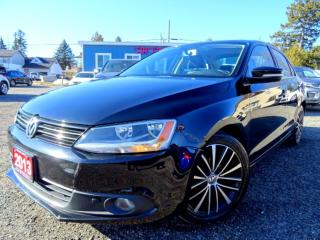 Used 2013 Volkswagen Jetta Highline TDI DSG Leather Sunroof Bluetooth Certified 2013 Volkswagen Jetta Highline TDI Bluetooth Leather Sunroof Certified for sale in Guelph, ON