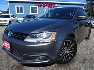 Used 2013 Volkswagen Jetta TDI Highline Sunroof Leather Certified for sale in Guelph, ON