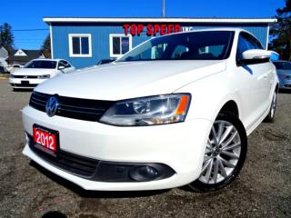 Used 2012 Volkswagen Jetta TDI HIGHLINE NAVI SUNROOF LEATHER CERTIFIED for sale in Guelph, ON