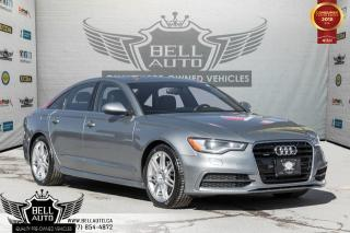 Used 2013 Audi A6 2.0T Premium, S-LINE, NAVI, BACK-UP CAM, SUNROOF, LEATHER, HEATED SEATS for sale in Toronto, ON