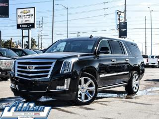 Used 2016 Cadillac Escalade ESV Premium Dual DVD|22Inch|LOW KM|Navi for sale in Mississauga, ON