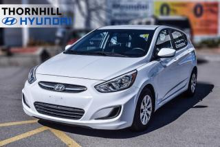 Used 2017 Hyundai Accent GL Hatch  - Bluetooth -  Heated Seats for sale in Thornhill, ON