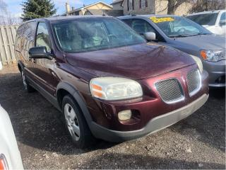 Used 2006 Pontiac Montana Sv6 FWD w/1SA Selling As Is! for sale in St Catharines, ON