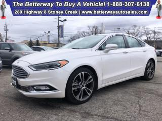 Used 2018 Ford Fusion Titanium| Navi| Backup Cam| AWD| Leather| Sunroof for sale in Stoney Creek, ON