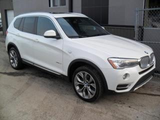 Used 2016 BMW X3 28i 4x4 ECONO FULL FULL + FULL GARANTIE for sale in Laval, QC