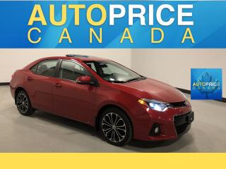 Used 2016 Toyota Corolla MOONROOF|REAR CAM|ALLOYS for sale in Mississauga, ON