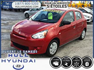 Used 2015 Mitsubishi Mirage ES A/C for sale in Gatineau, QC