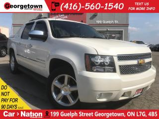 Used 2012 Chevrolet Avalanche 1500 LTZ | NAVI | DVD | LEATHER | ROOF | 4X4 | V8 for sale in Georgetown, ON