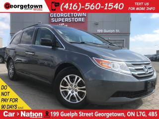 Used 2012 Honda Odyssey EX-L | LEATHER | ROOF | PWR DOORS | CAMERA for sale in Georgetown, ON