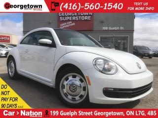 Used 2015 Volkswagen Beetle 1.8 TSI Classic | NAVI | LEATHER | PANO ROOF for sale in Georgetown, ON