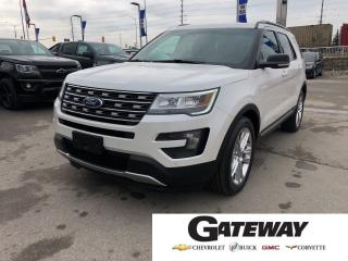 Used 2016 Ford Explorer XLT|ONE OWNER|NAVIGATION|LEATHER| for sale in Brampton, ON